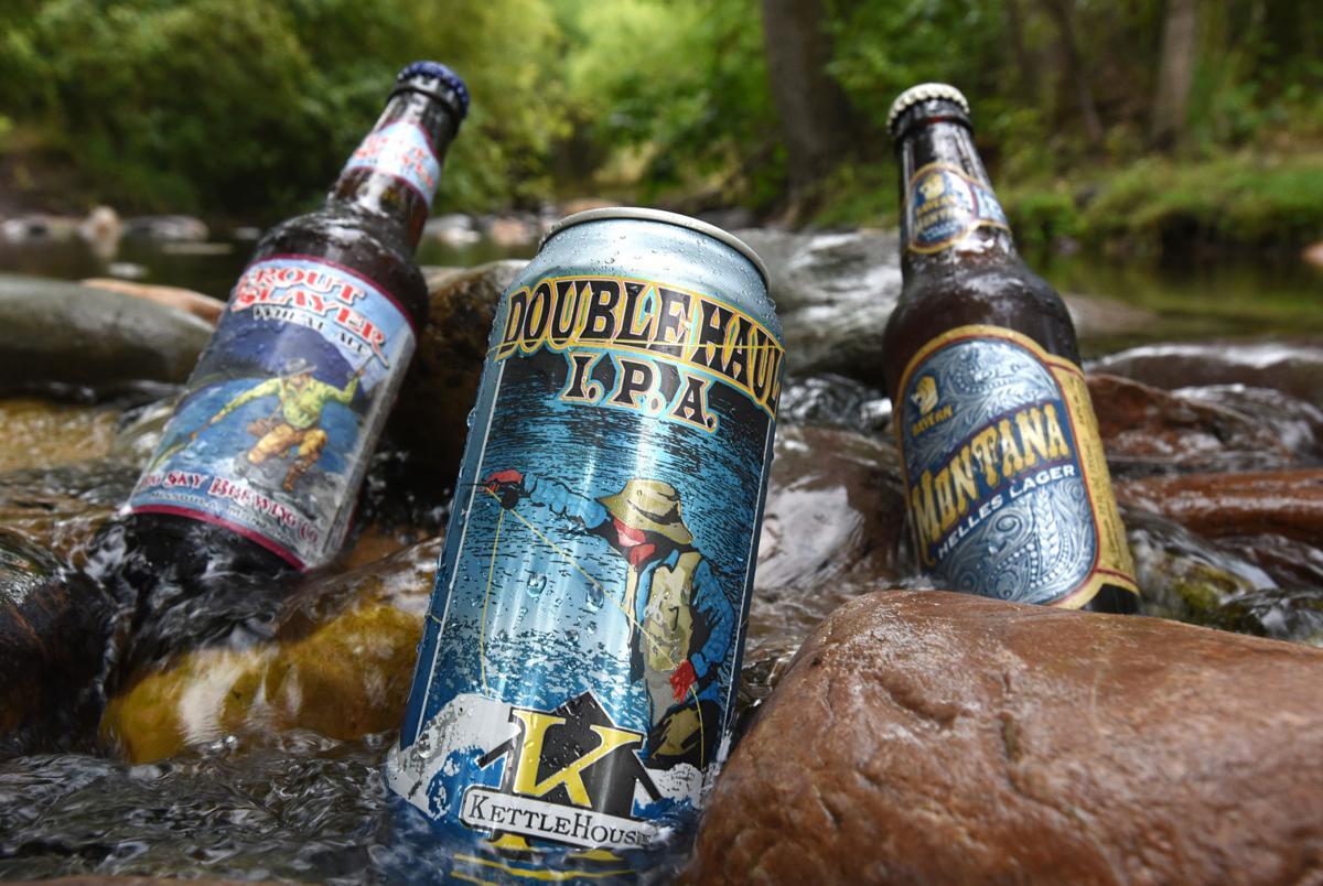 Beer in stream