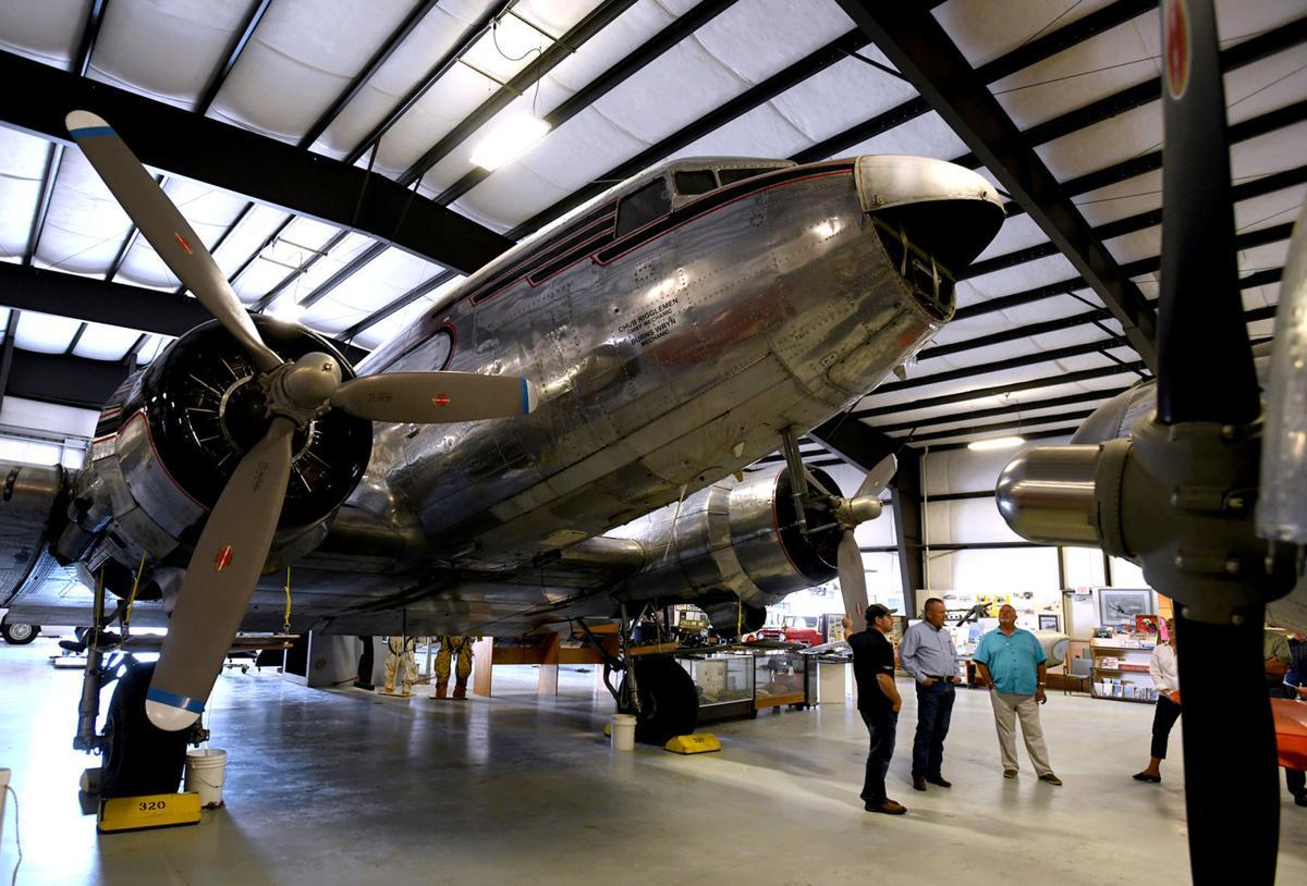 Mann Gulch C-47 1 fly-in display