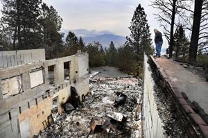Homeowner says backburn on Lolo Peak backfired, destroying his home