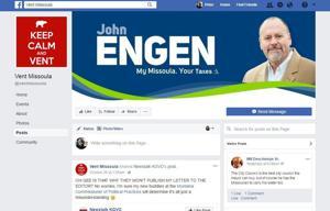 Campaign complaint against Facebook page Vent Missoula dismissed