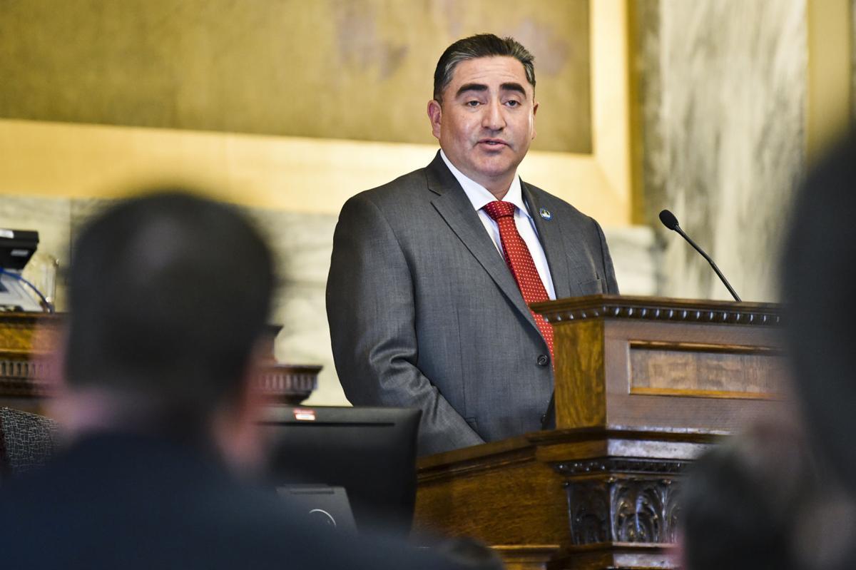 Andrew Werk Jr., president of Fort Belknap Indian Community Council,