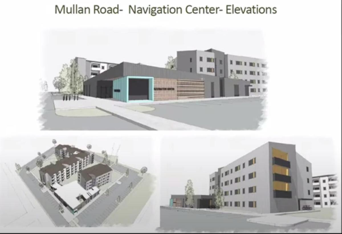 Renderings of Mullan Road affordable housing