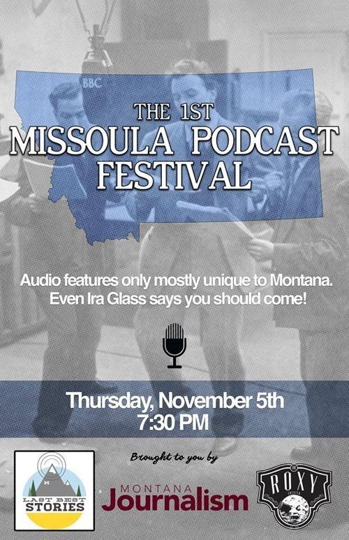 Missoula Podcast Festival