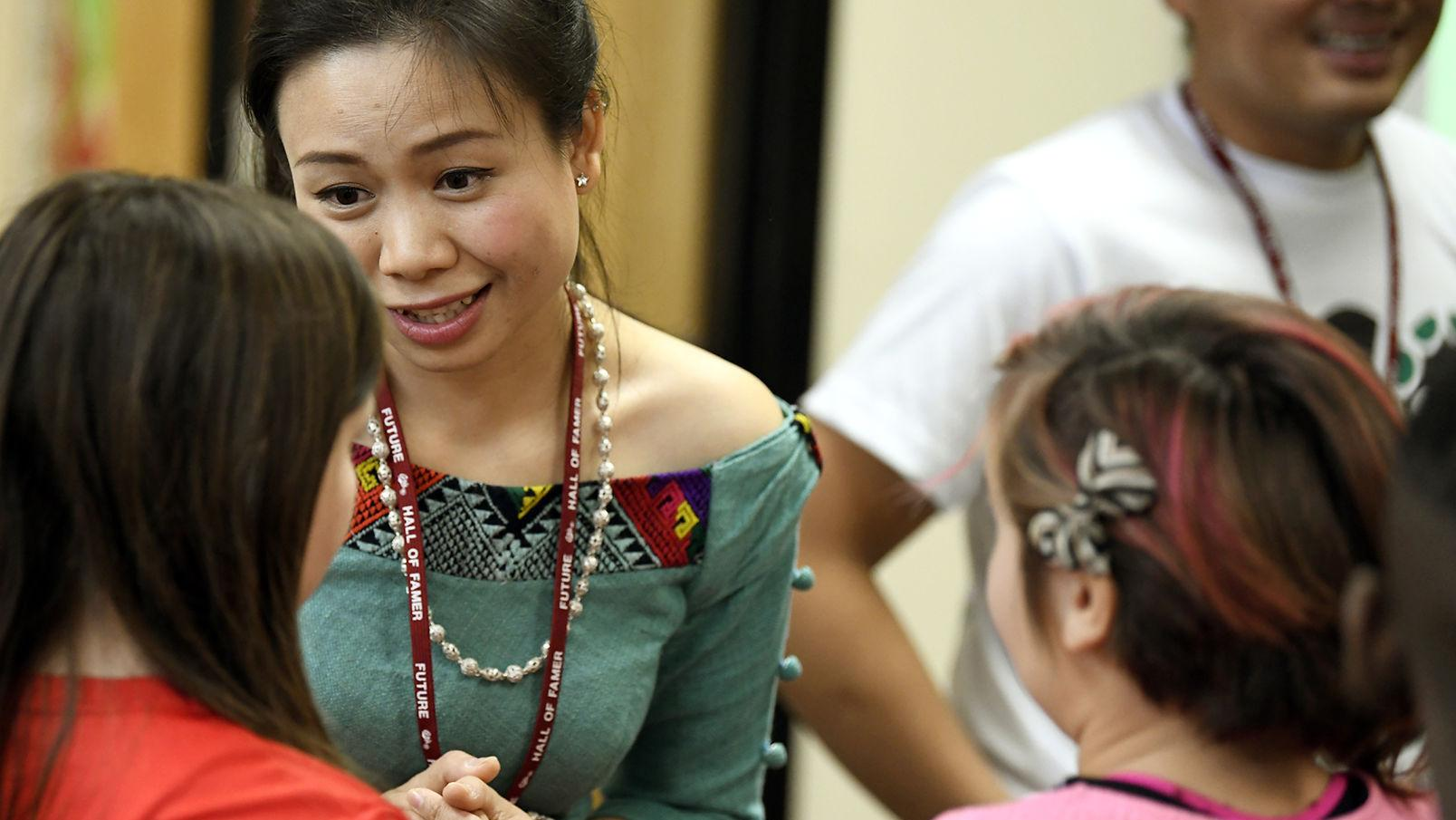 Teachers from Laos learn from Frenchtown schools