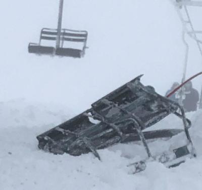 Snowbowl chair