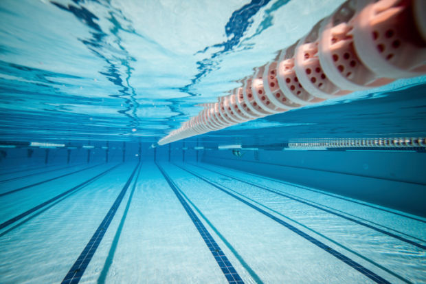 swimming pool stockimage