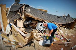 1-week-old baby dies from injuries after tornado rips through North Dakota RV park