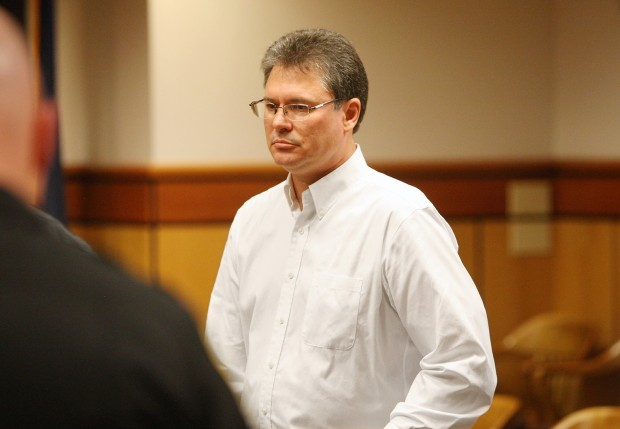 Stacey Rambold stands in the courtroom