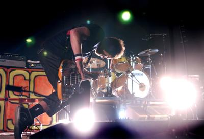 Jeff Ament on stage in 2005