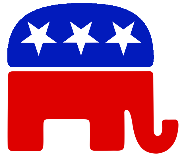 Republican Republicans Rep Reps GOP icon elephant vote