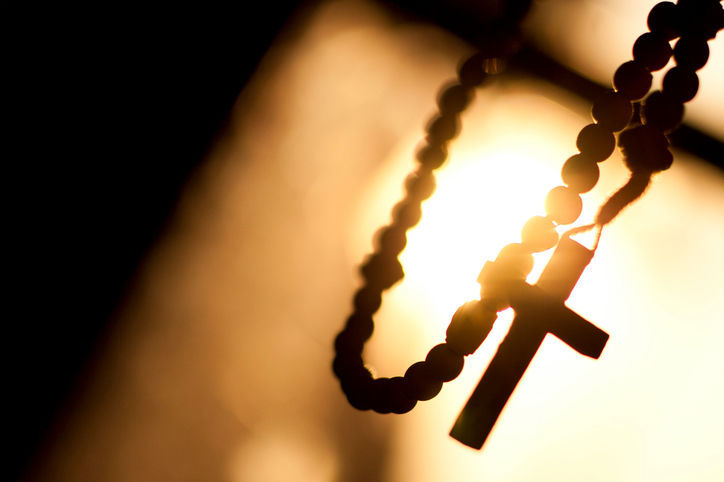 rosary stockimage