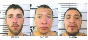 3 escaped Big Horn County jail same night inmates took over facility; 2 arrested in Billings