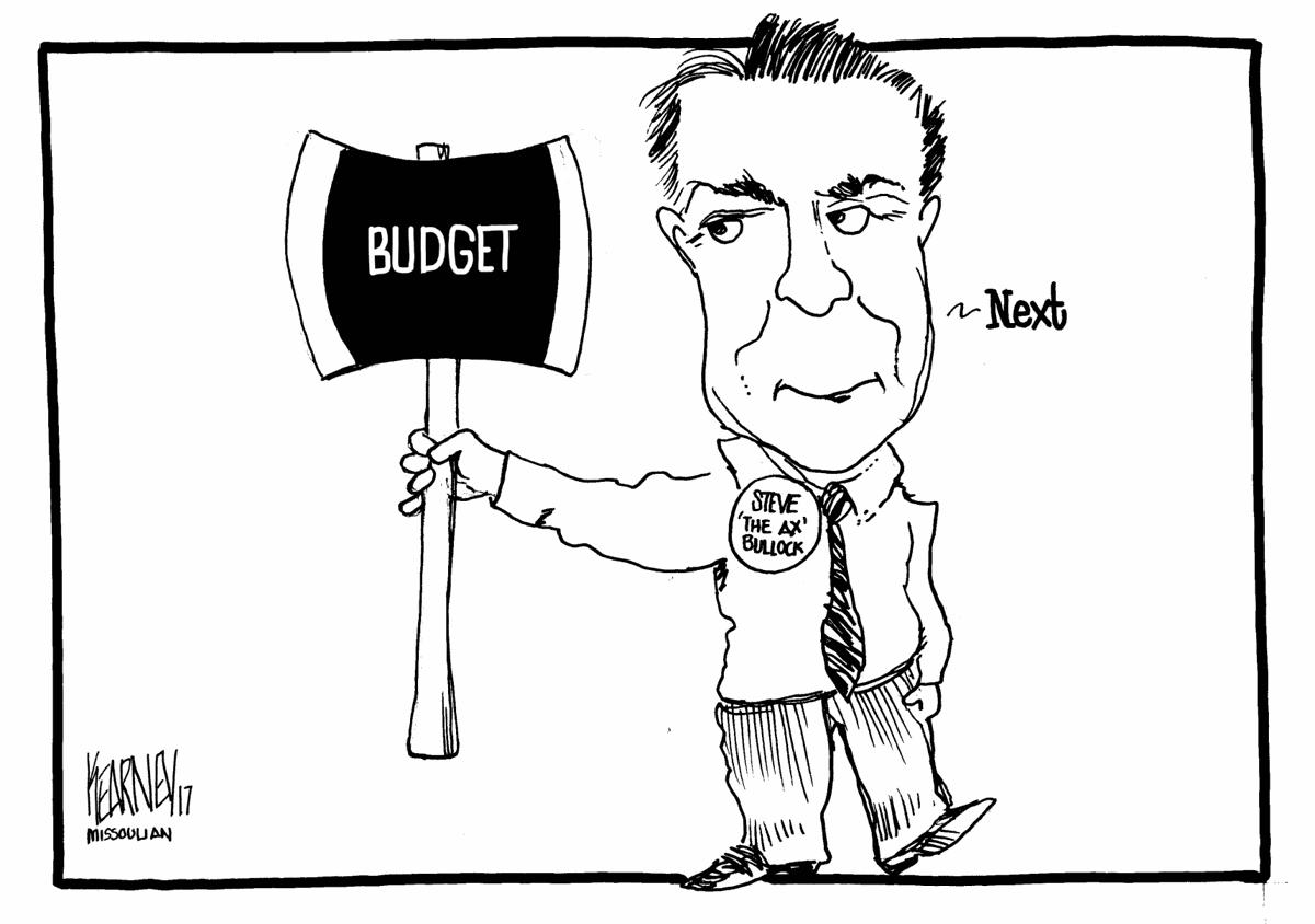 Bullock holds budget ax