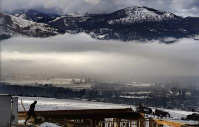 Inversion blankets Missoula