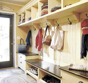 Keepin' it clean: Mudrooms offer tidy barrier for today's home