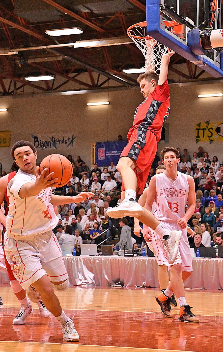 Mack Anderson dunk