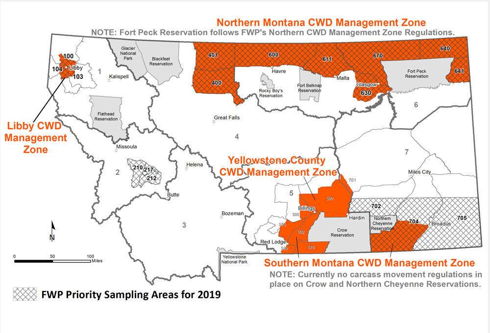 2019 CWD map