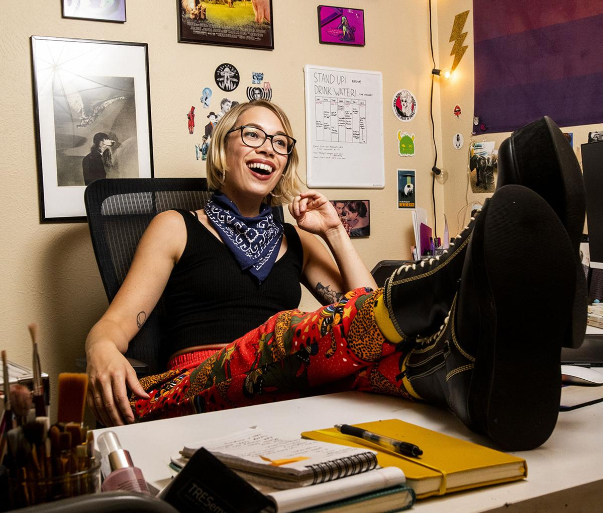 Entertainer: Megan Toenyes cover