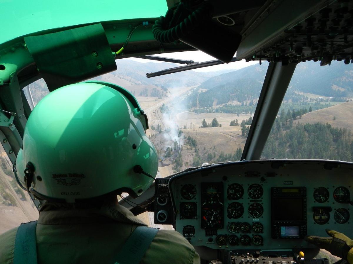 Beavertail Hill fire