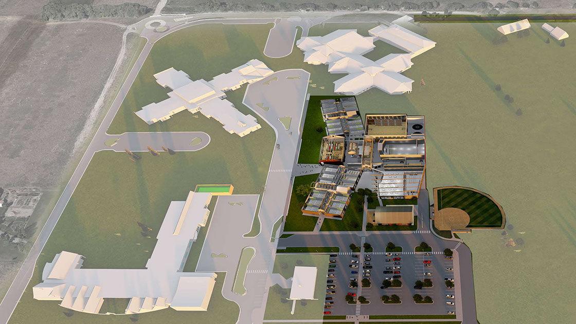 Hellgate middle school rendering