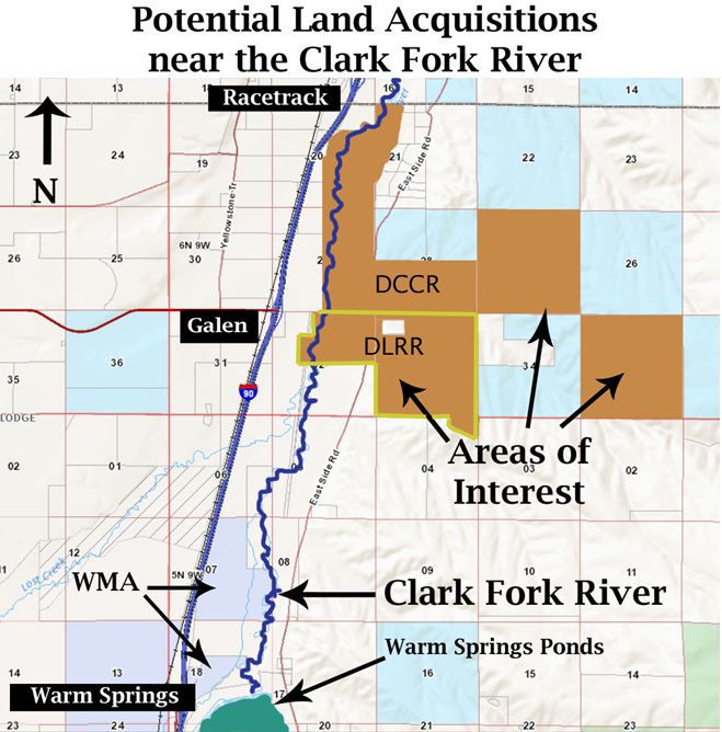 Clark Fork Coalition moves to divest from Deer Lodge ranches | Local
