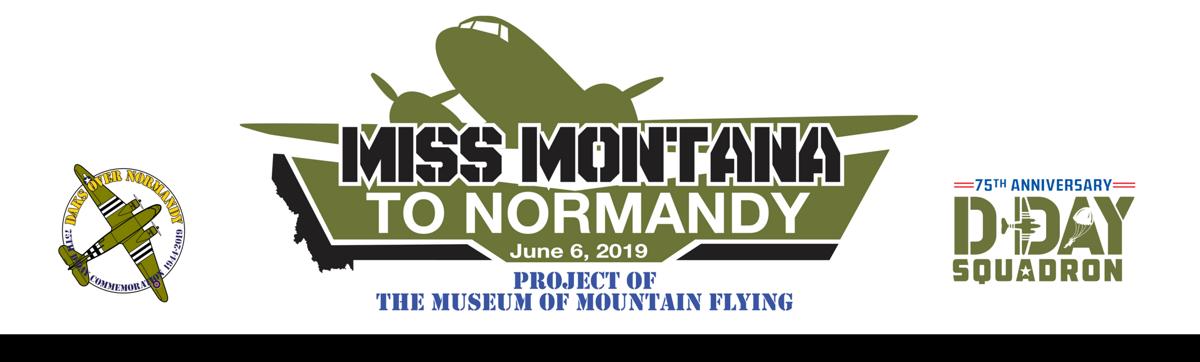 Miss Montana to Normandy logo