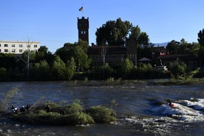 Missoula river downtown