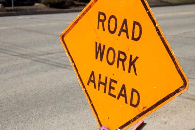 road work stockimage