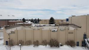 Montana State University warns that second building's roof may collapse