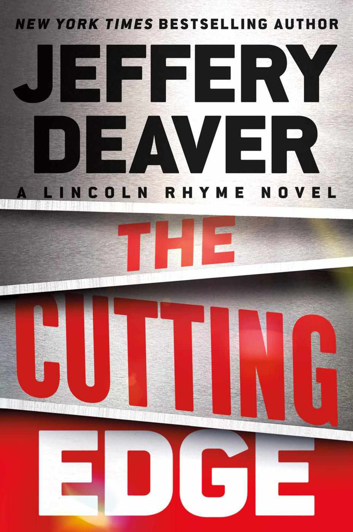 """""""The Cutting Edge"""" by Jeffery Deaver; Grand Central"""