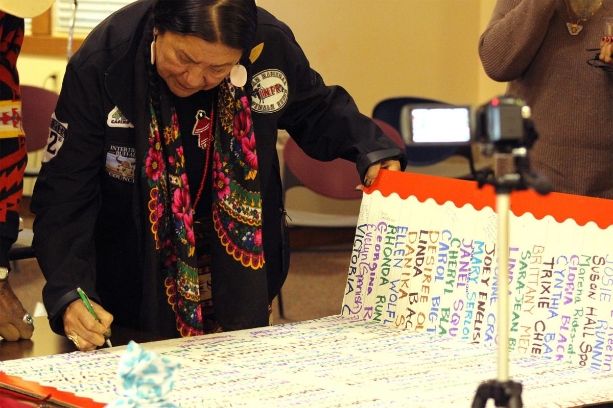 The dead cannot cry out for justice': Blackfeet seek