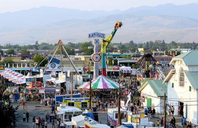 Western Montana Fair stock image