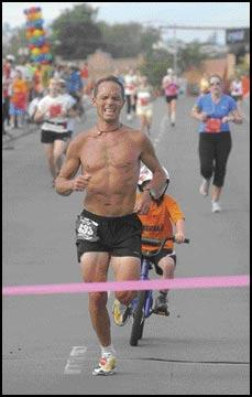 Fast track: Missoula's Kiefer Hahn sets record in winning his second Missoula Marathon