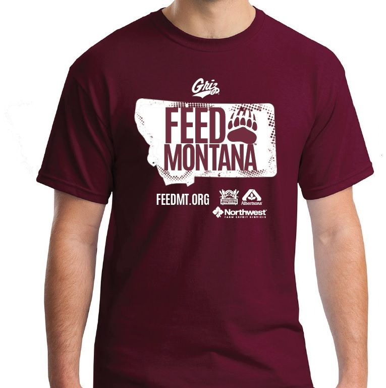 Montana Food Bank Network Maroon Out the M