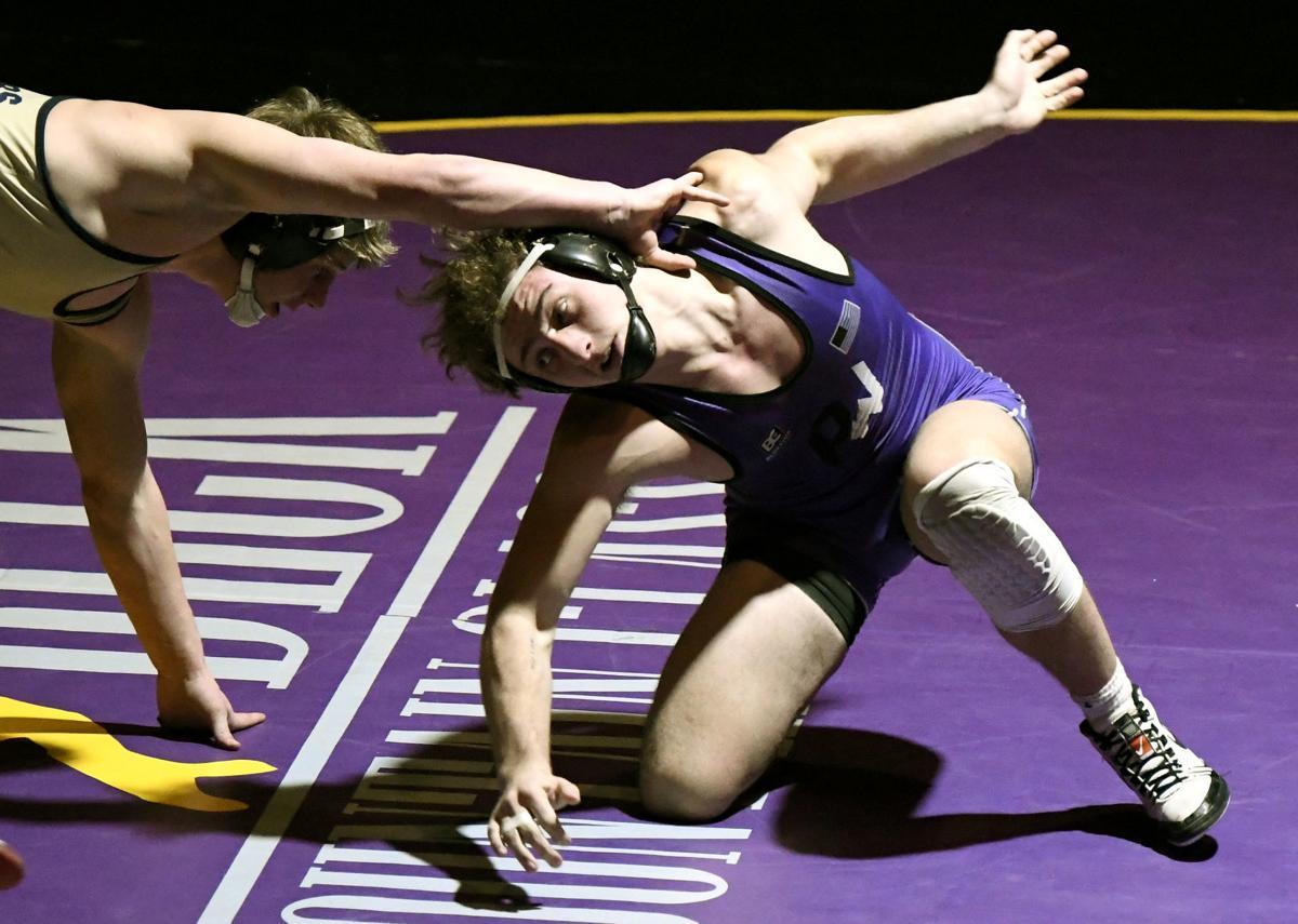 Polson wrestling Hunter Fritsch