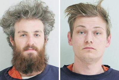 Jared Michael Desroches, 30, of Missoula, left, and Alexander Clifford Gordon, 24, of Helena,