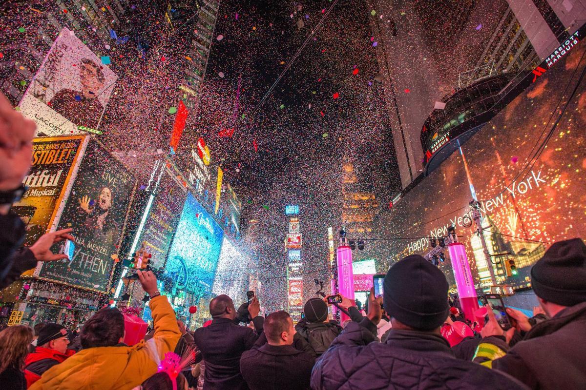 New Year's Eve in Manhattan