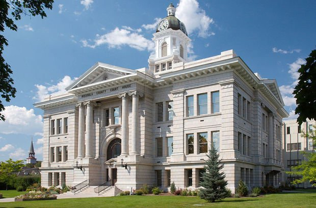 Missoula County Courthouse stockimage