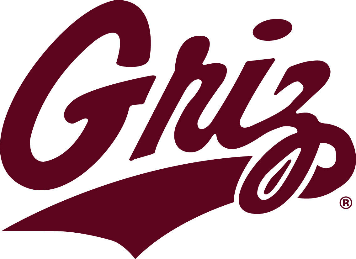 University of Montana Grizzlies Griz logo