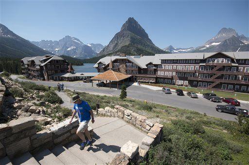 Many Glacier Hotel survived fires, floods, ravages of time