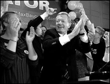 Baucus cruises into his 6th term