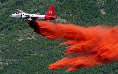 Western Wildfires Tanker Planes