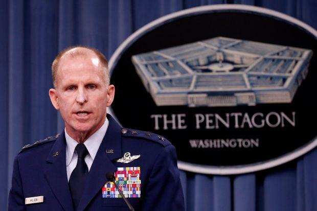 Air Force Global Strike Command Commander Lt. Gen. Stephen Wilson