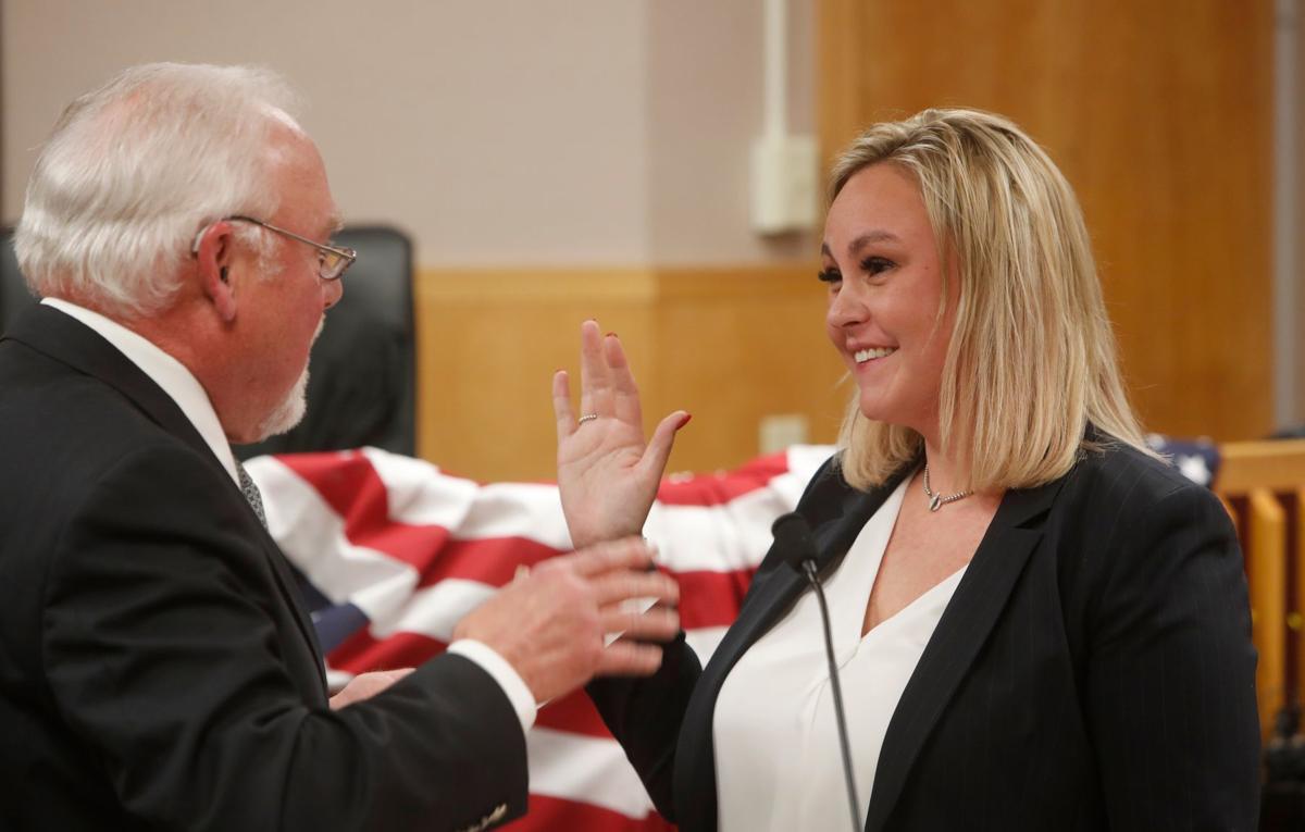 Harada sworn into office