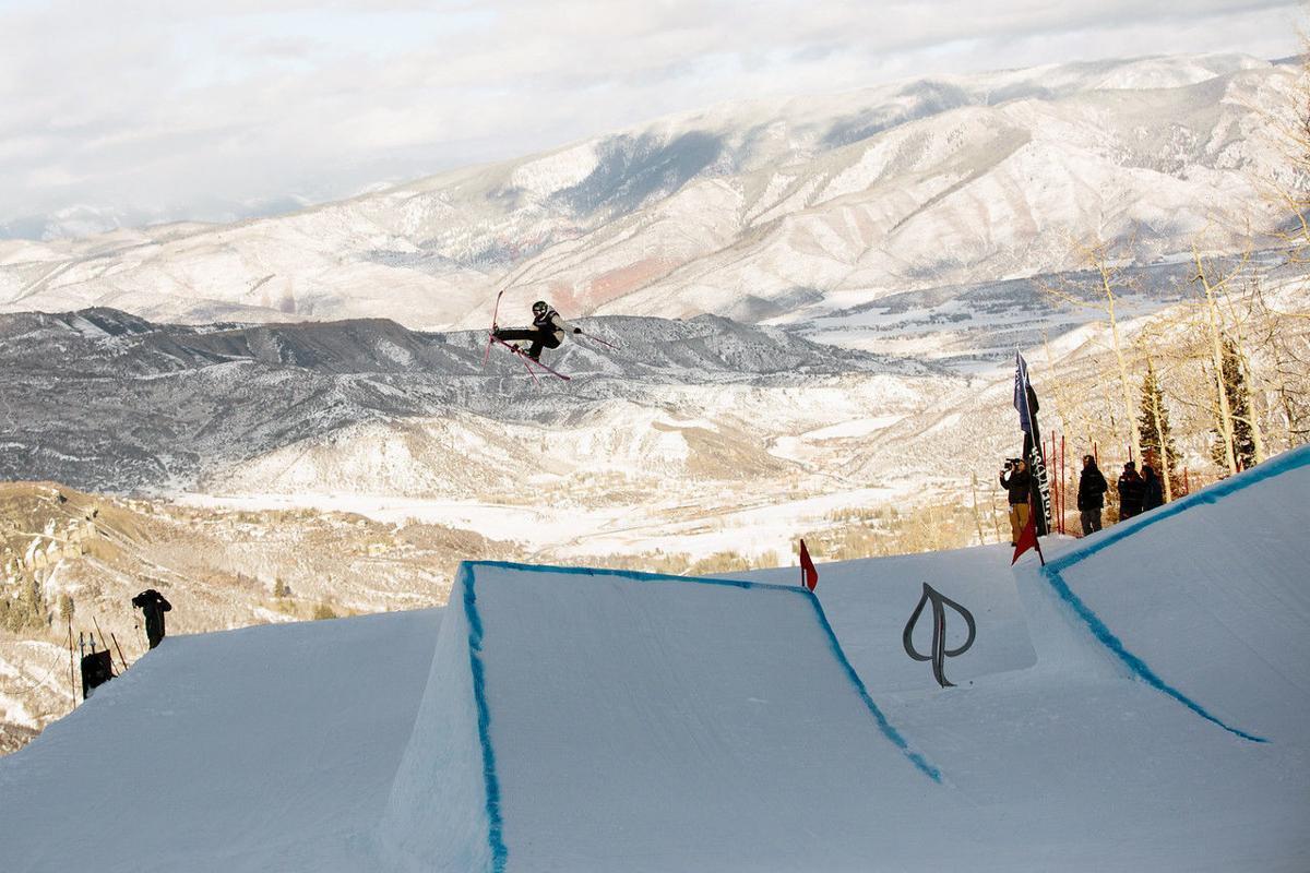 Maggie Voisin at 2018 U.S. Freeskiing Grand Prix