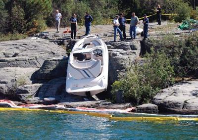 Flathead boat crash