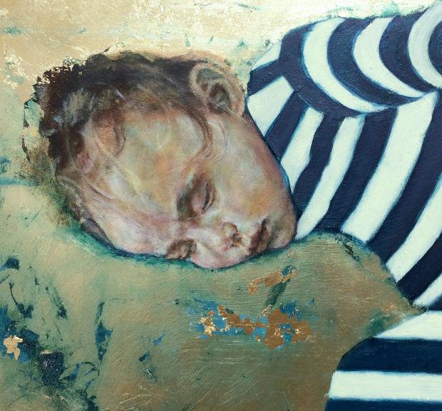 Megan Moore painting detail