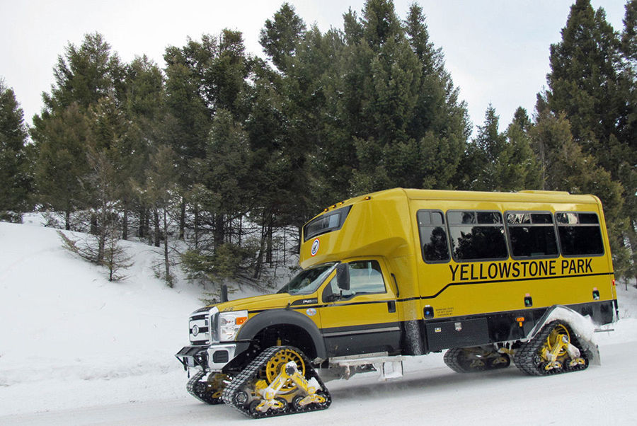 Yellowstone National Park Opens Roads For Winter Travel