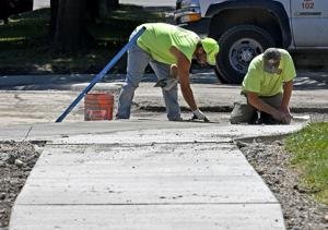 Missing, cracked sidewalks: Missoula looks to tackle widespread pedestrian problems