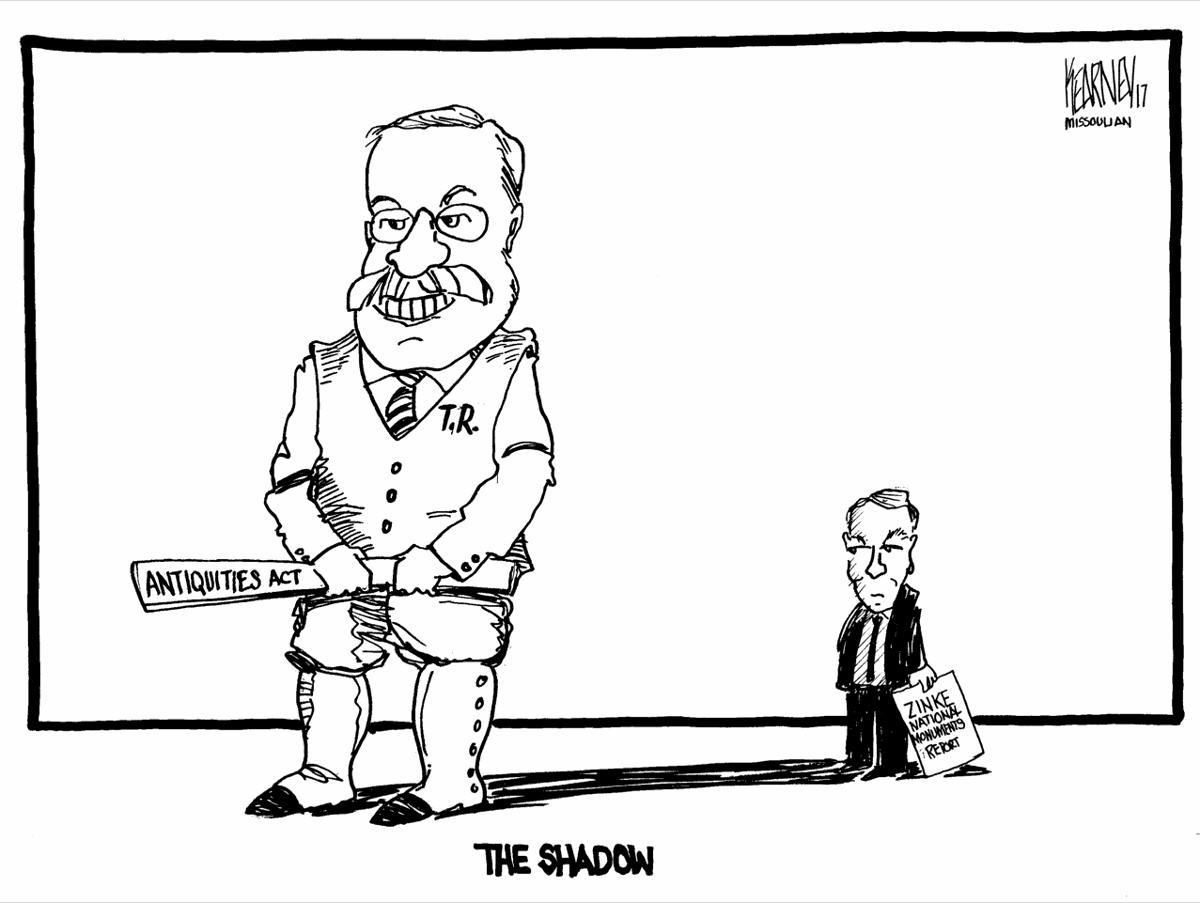 Zinke Antiquities decision in Roosevelt's shadow